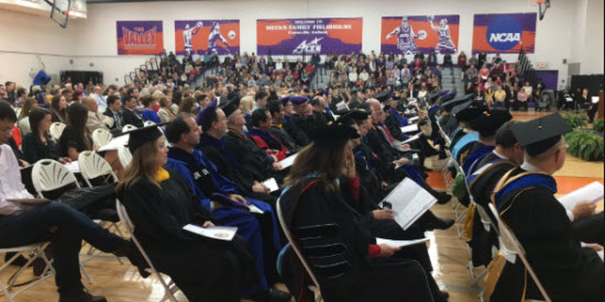 44 students graduate at UE 2018 Winter Commencement