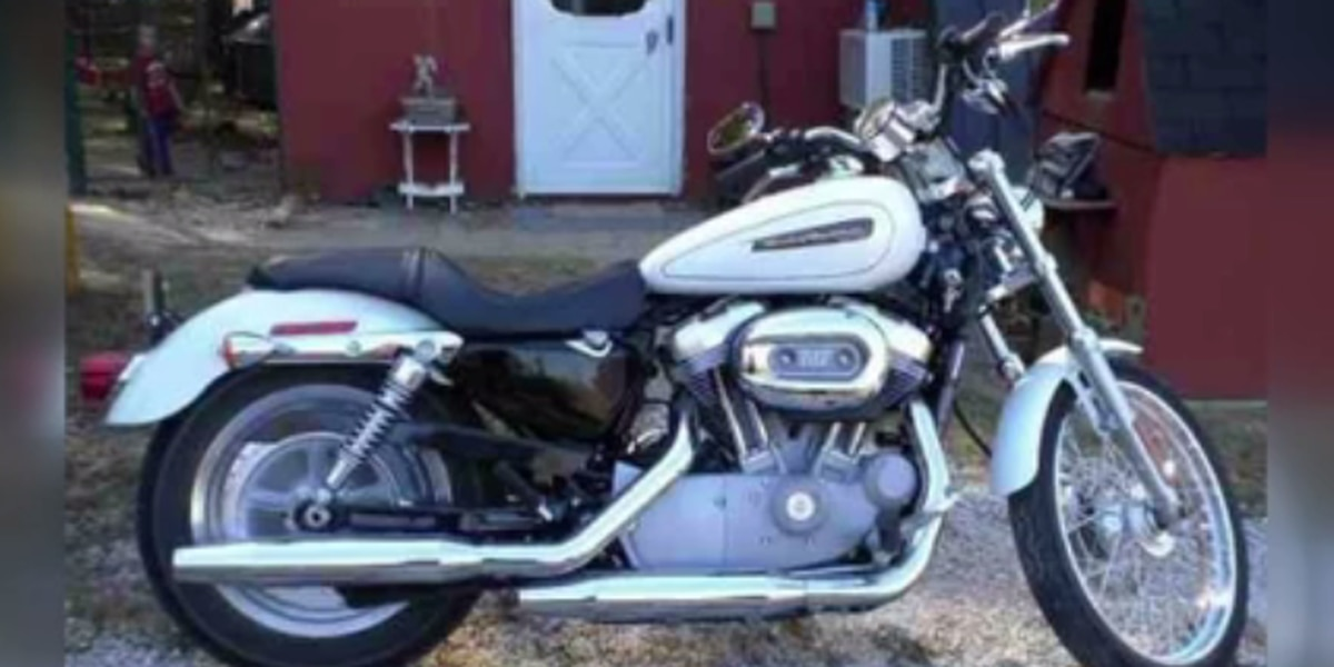 Couple asking for help finding motorcycle that honored murdered son