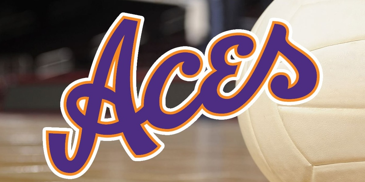 Aces volleyball announces 2019 schedule
