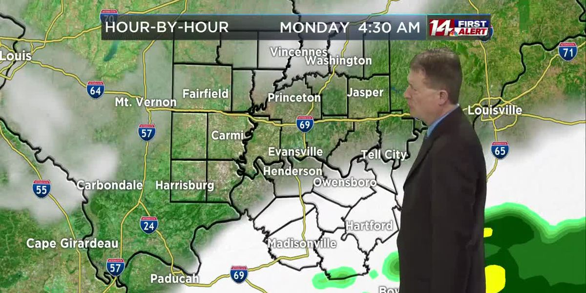 Monday morning 14 First Alert Forecast