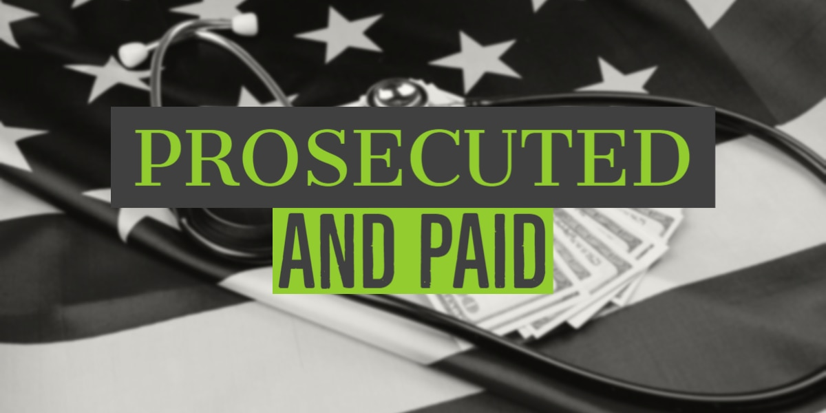 Prosecuted and Paid: Government doles out billions in coronavirus relief money to companies that paid out millions in fraud-related cases