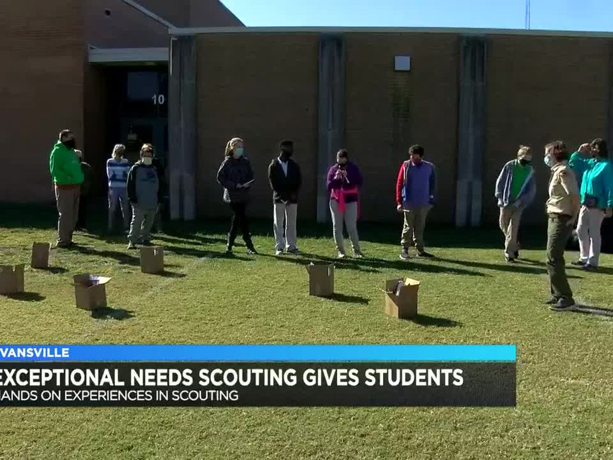Exceptional Needs Scouting program gives students hands-on experience
