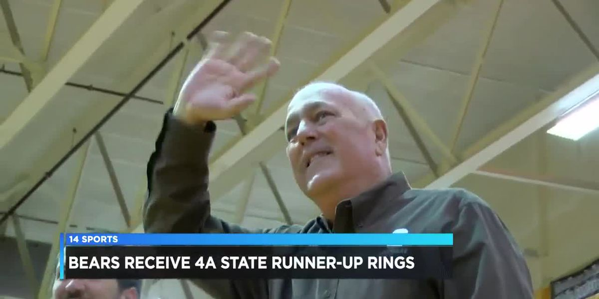 Central Football receives Class 4A State Runner-up rings