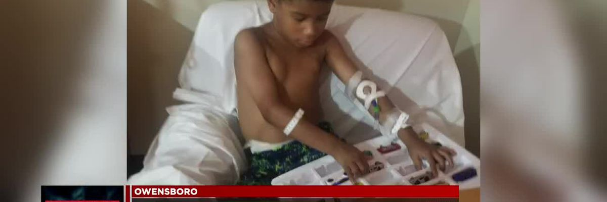 Online learning helps boy with sickle cell disease in Owensboro