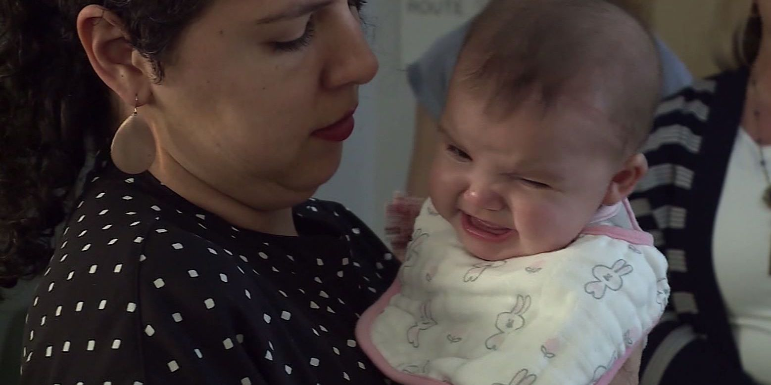 Woman has baby days after having a stroke