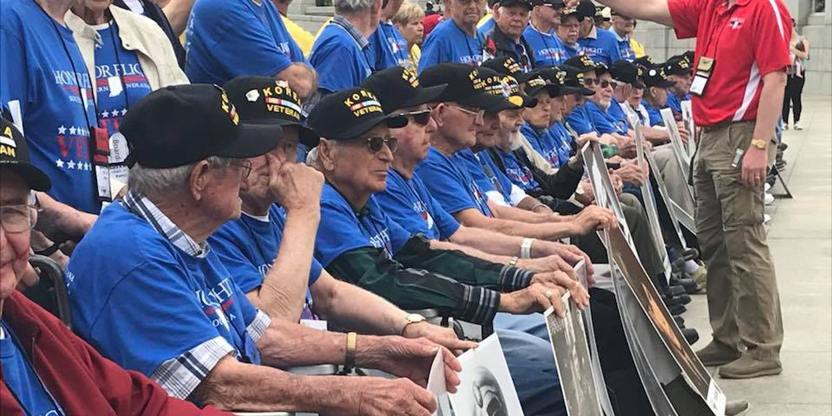 Honor Flight vets return home from trip