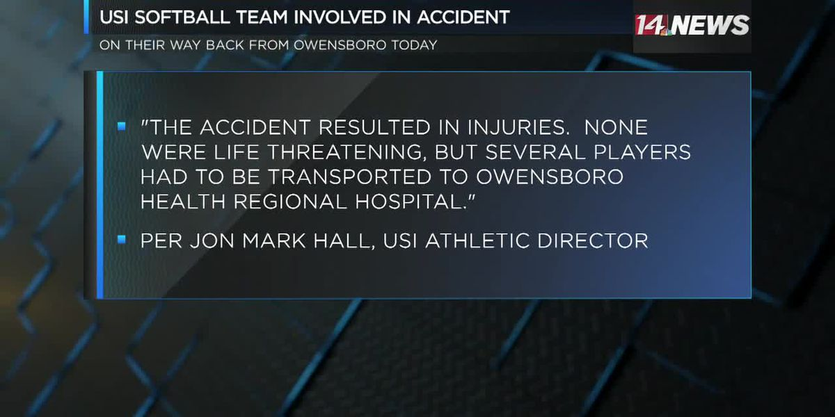USI softball players involved in Owensboro crash released from hospital