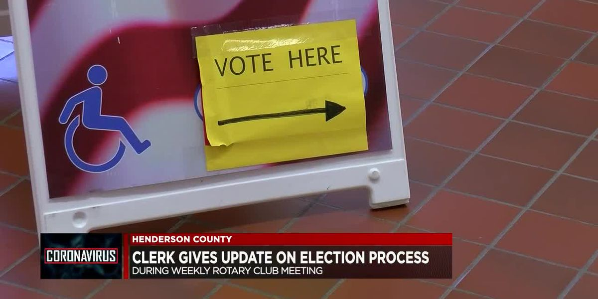 Henderson Co. shares voting plans for next month's primary election