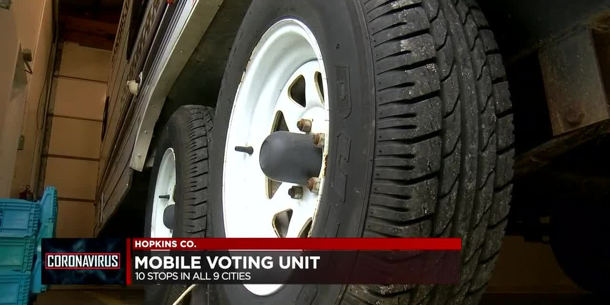 Hopkins Co. utilizing 'voting truck' for KY primary election