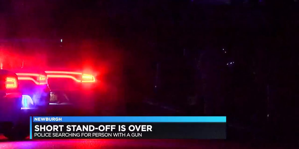 Police: Newburgh standoff ensues after report of person with gun