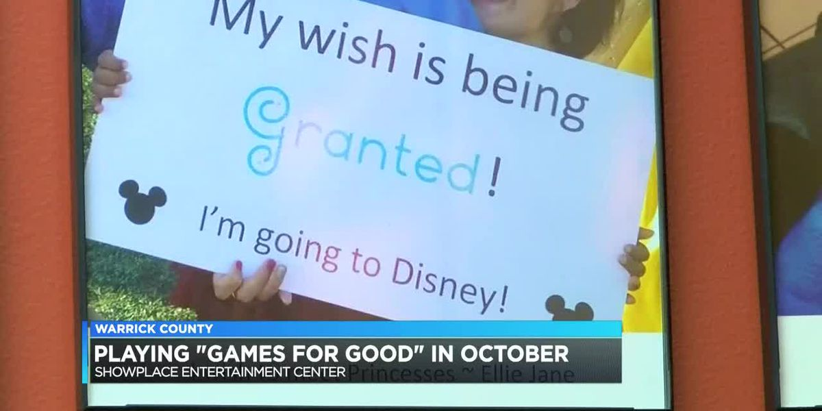 Playing 'Games for Good' in October at Showplace Entertainment Center in Newburgh