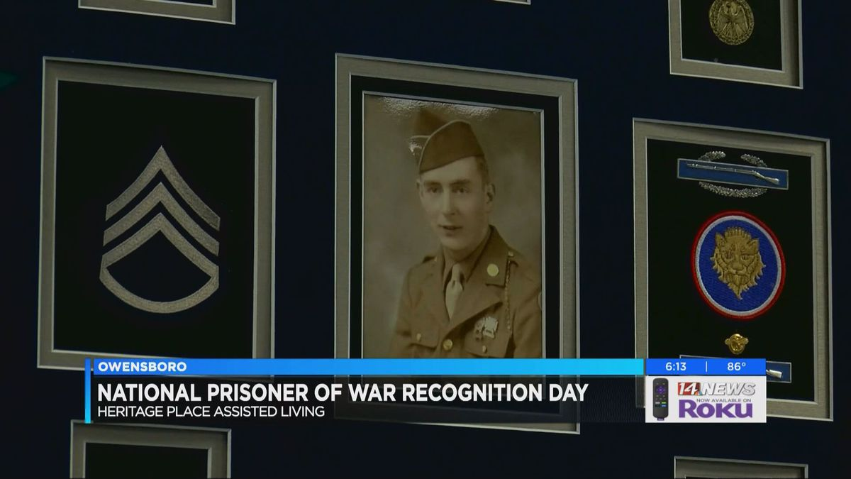 Veteran honored in Owensboro for National Prisoner of War Day