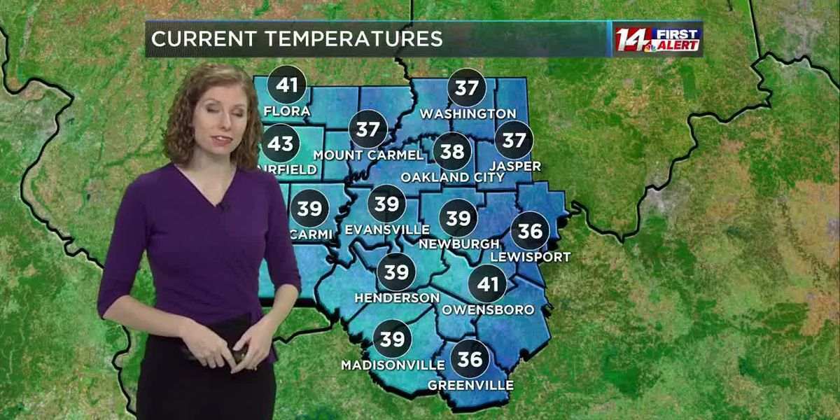 Mostly sunny and warmer Thursday