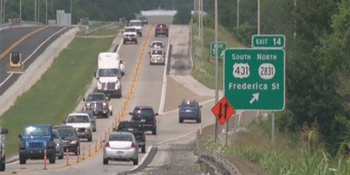 Traffic shift delayed on U.S. 60 bypass due to weather