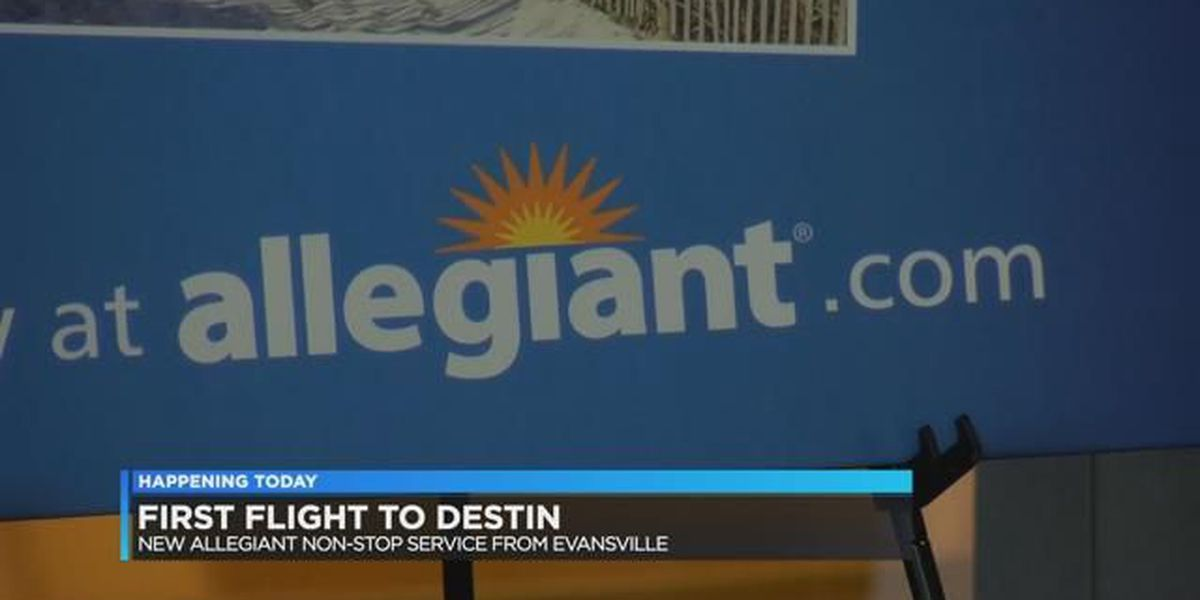 Flights to Destin, Florida take off Friday from Evansville Regional Airport