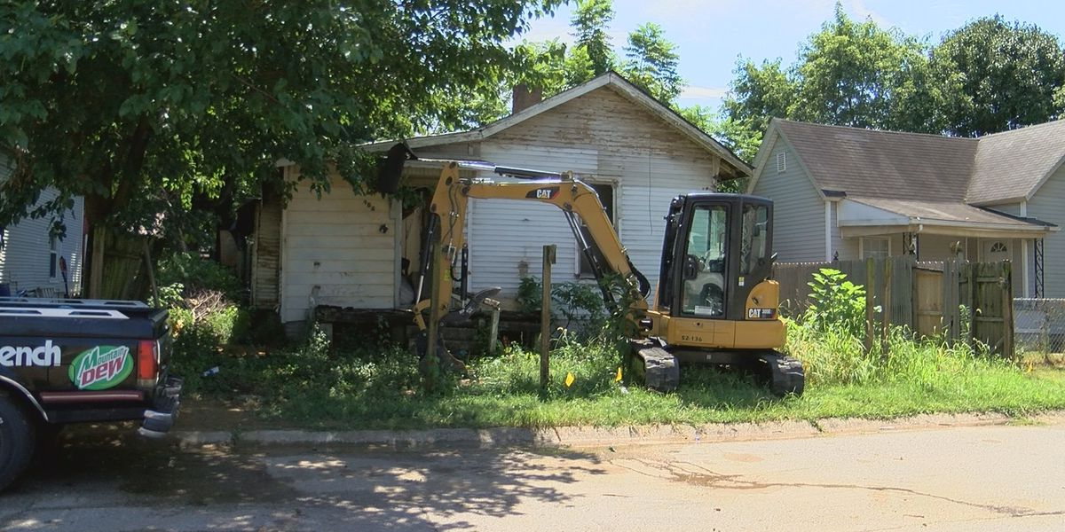 More blighted homes taken down thanks to increased budget