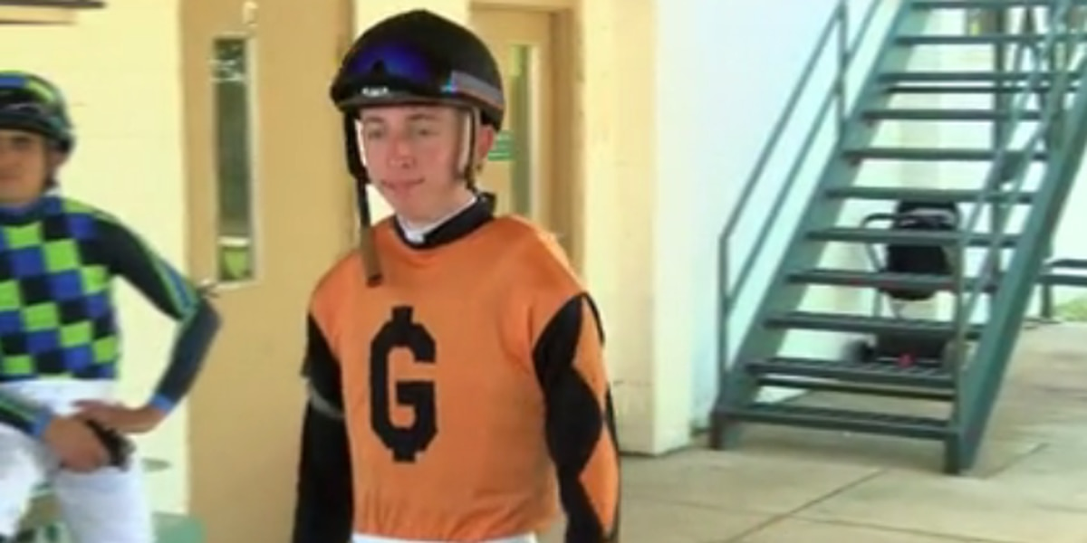 Declan Carroll, apprentice jockey has 9 wins this summer