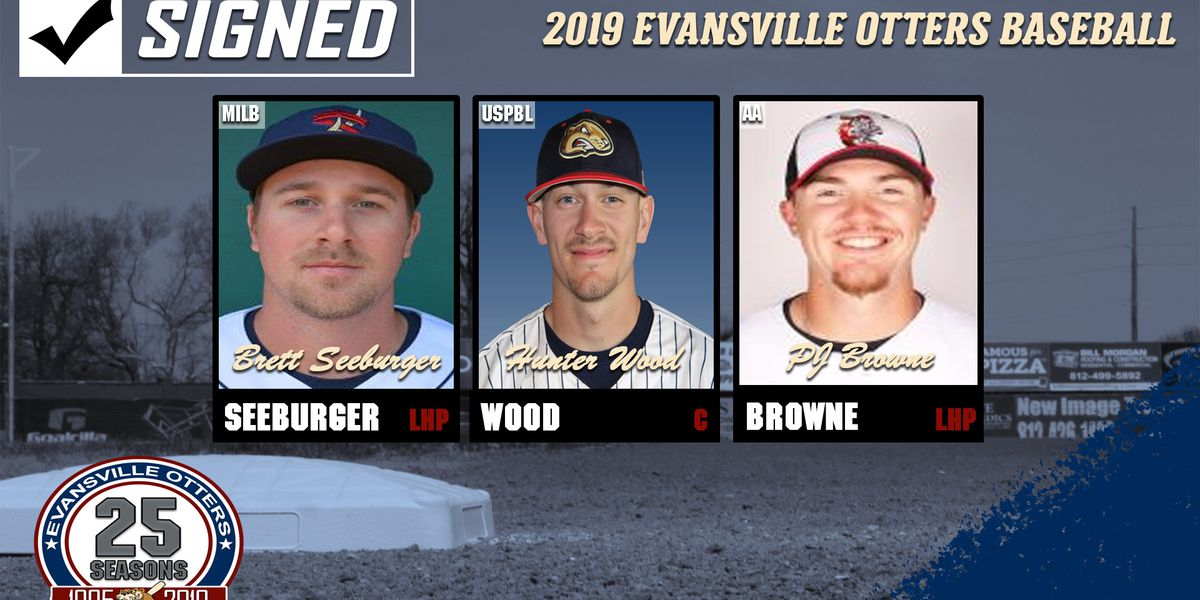 Otters sign Seeburger, Wood; acquire Browne