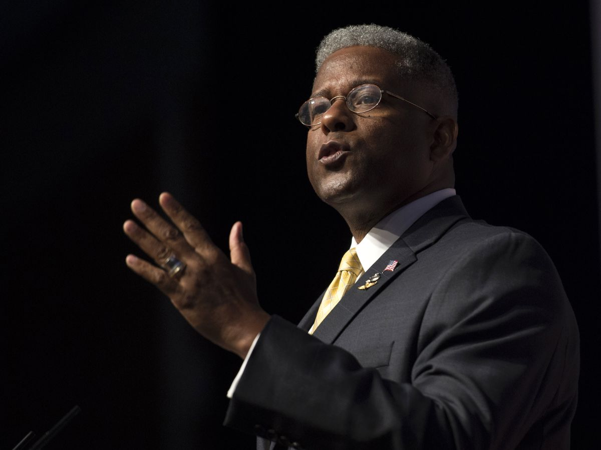 Former US Rep. Allen West out of hospital after Texas crash