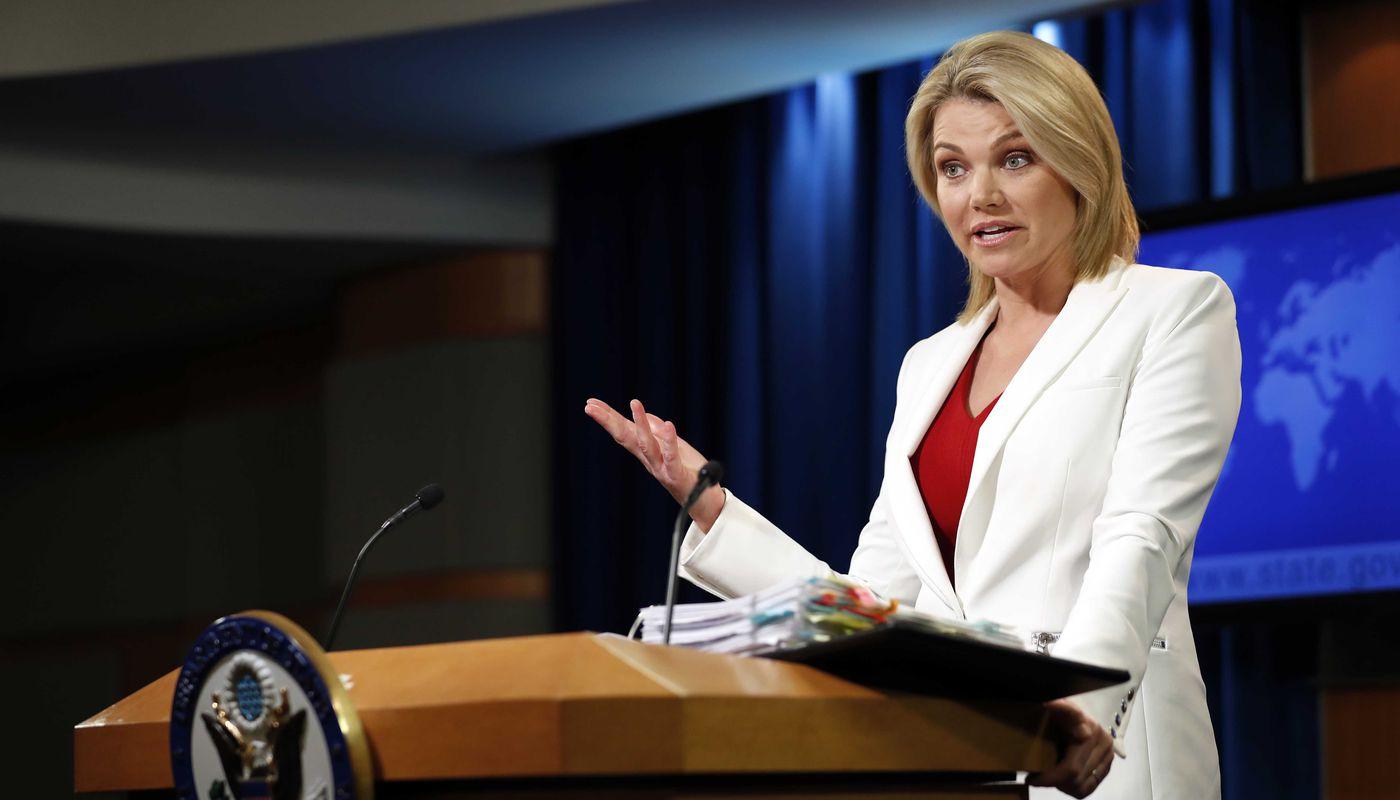 Heather Nauert withdraws bid to be UN ambassador, State Department says