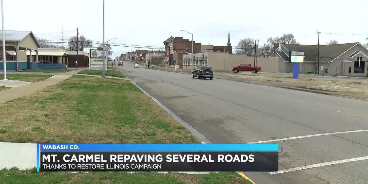 Mt. Carmel to repave several roads