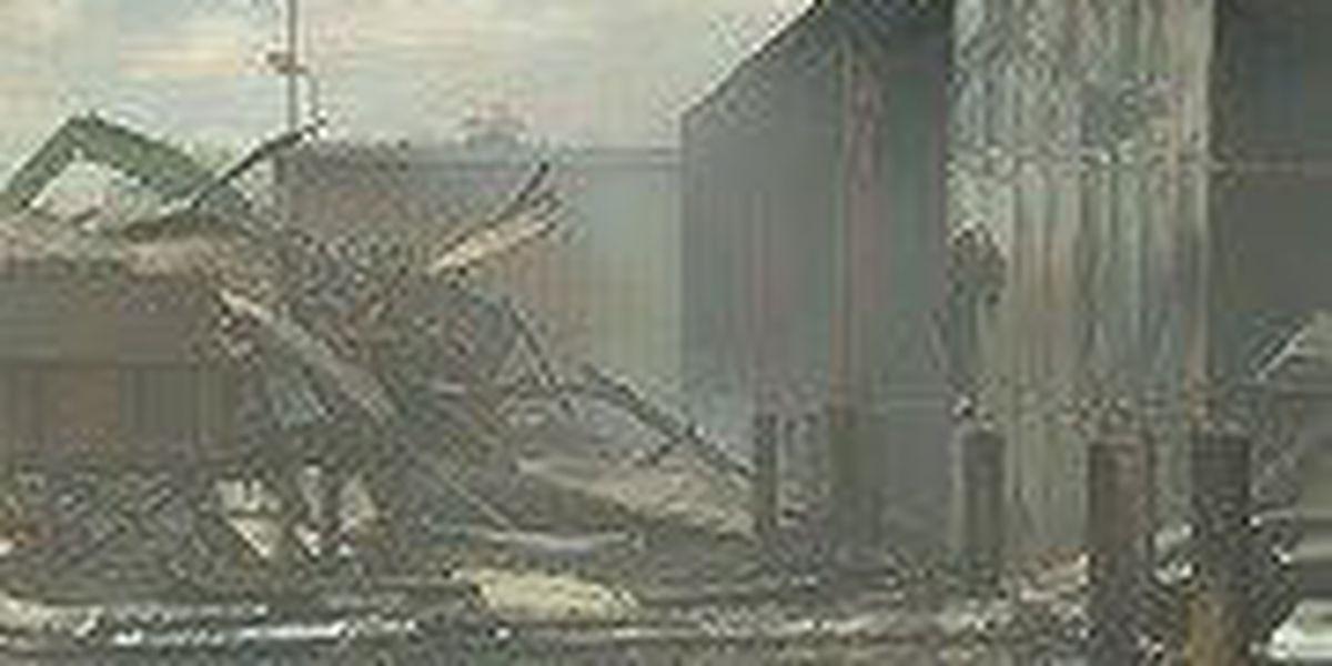 Fire destroys Re-Tek warehouse in Central City