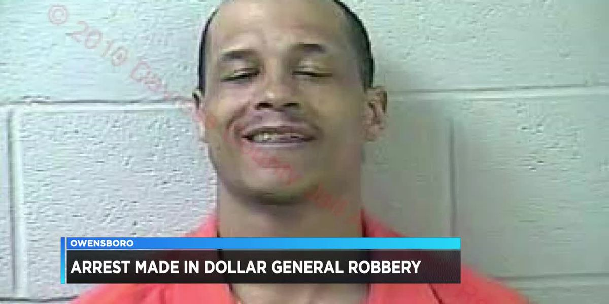 Owensboro police arrest man in Dollar General armed robbery