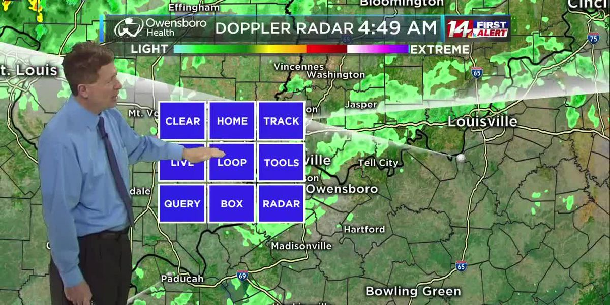 Tuesday morning 14 First Alert Forecast