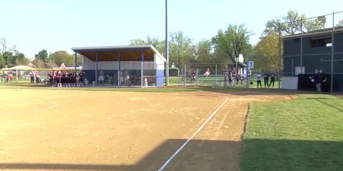 Memorial Softball holds field dedication