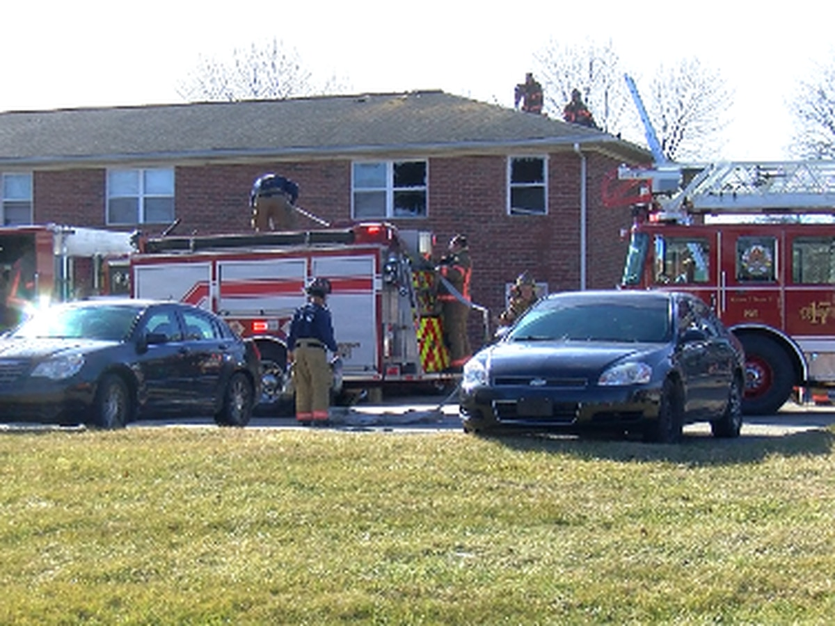 EFD: Candle causes small apartment fire on Brittany Ct.