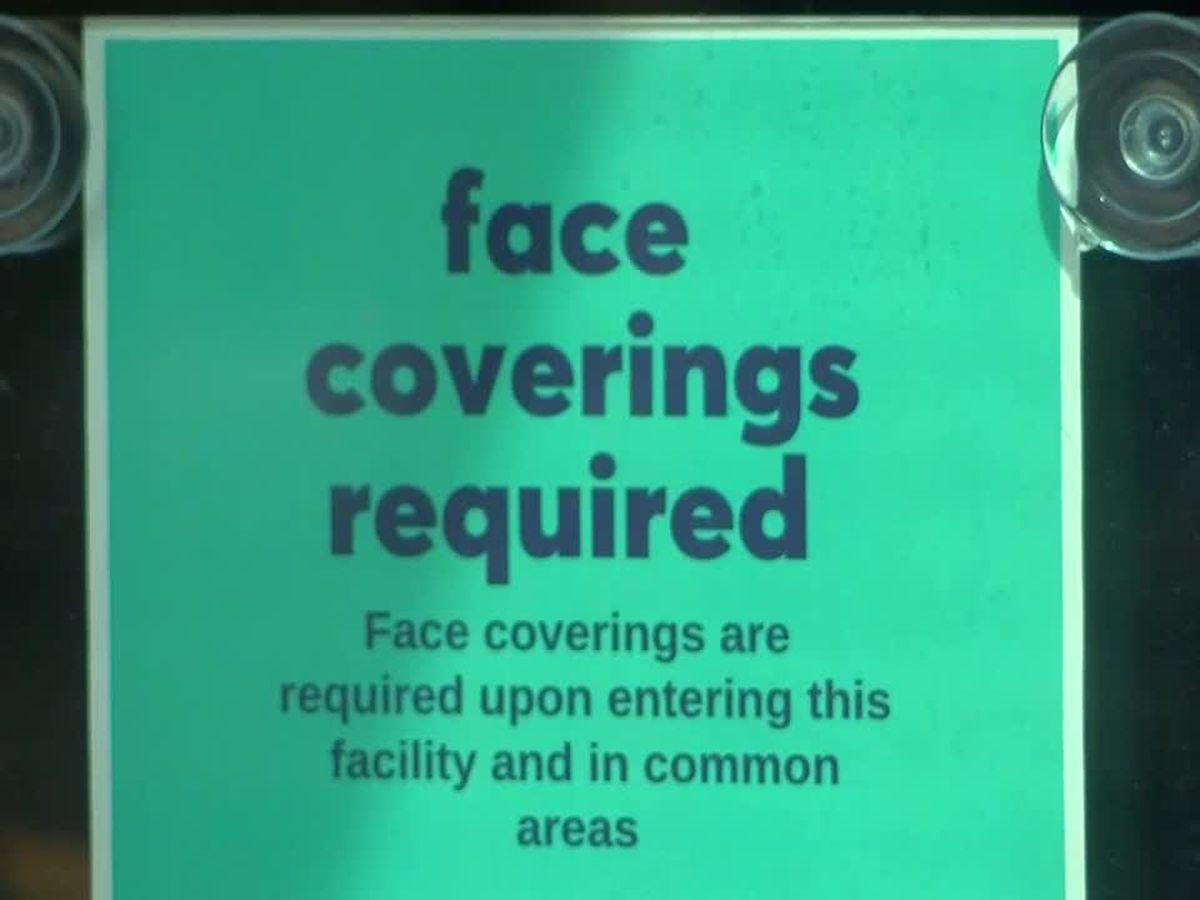 Businesses make adjustments for 1st day of Evansville's mask mandate