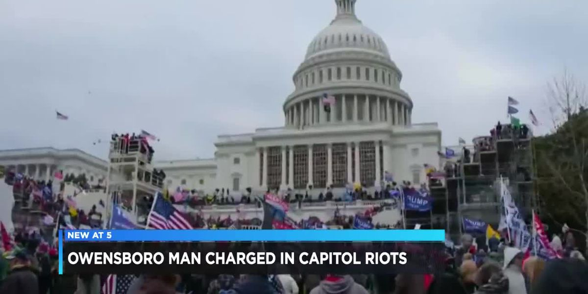 FBI arrest McLean Co. man in connection to Capitol riot