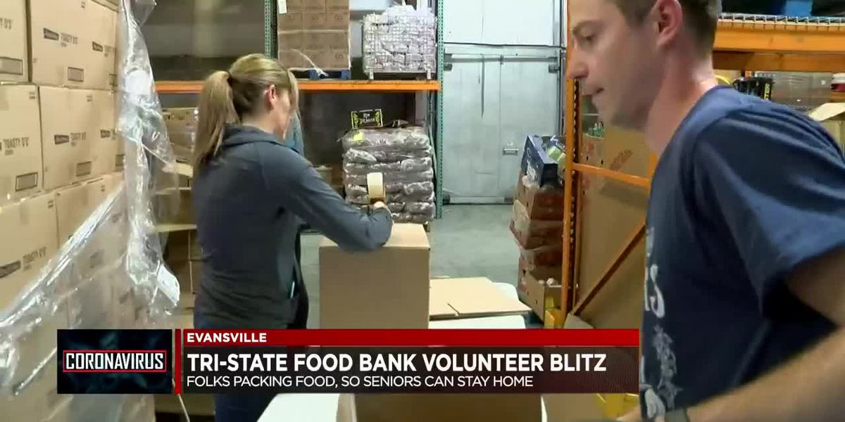 Tri-State Food Bank hosts volunteer blitz so seniors can stay home