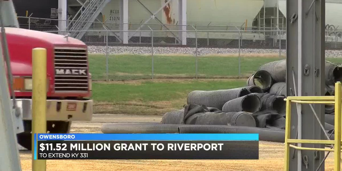 Owensboro gets major grant toward Riverport improvements