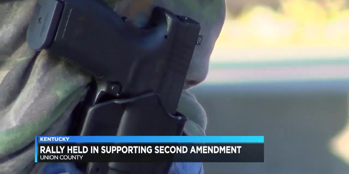 Group organizes rally in support of 2nd amendment in Union Co.