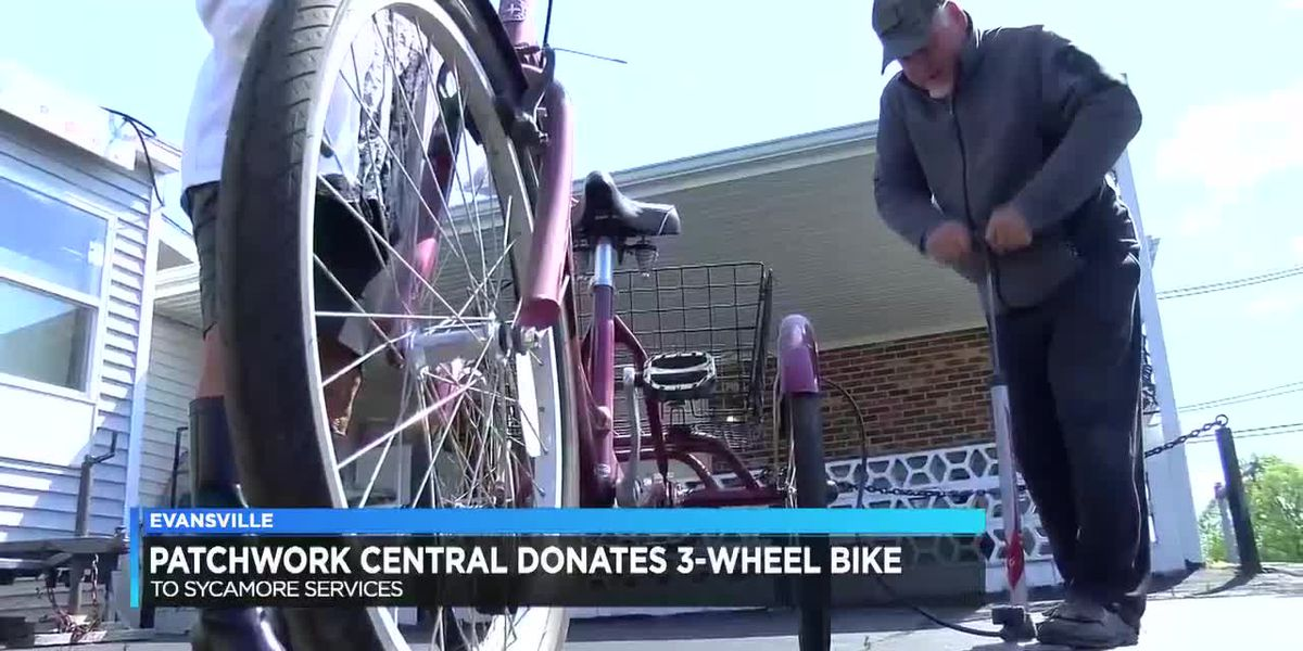 Man donates bicycle to Evansville non-profit after bikes were stolen