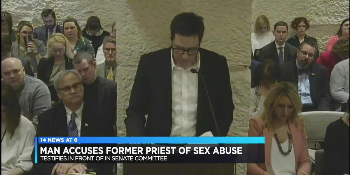 Man accuses former Evansville priest of sex abuse, testifies in front of IN Senate Committee