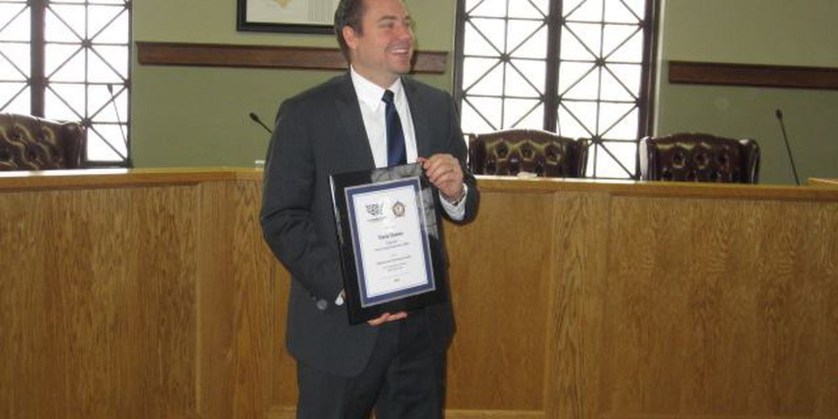 Posey Co. Prosecutor honored for work in animal abuse cases