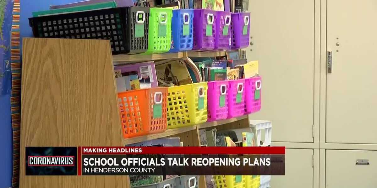 School officials talk reopening plan at Henderson Chamber meeting