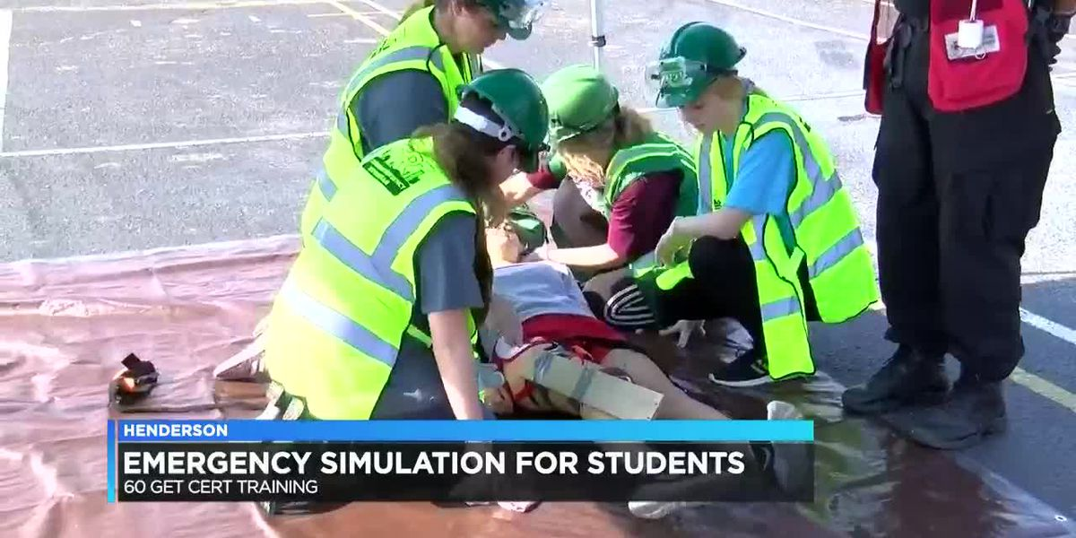 Henderson Co. students certified after disaster training