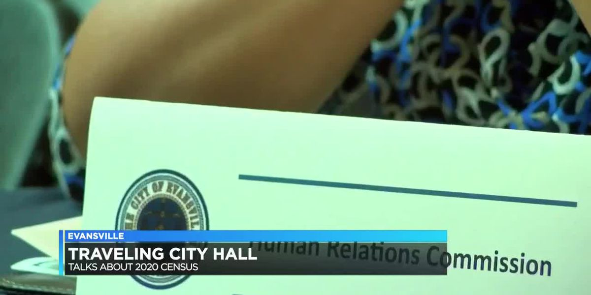 Evansville's traveling city hall discusses 2020 census at Eastland mall