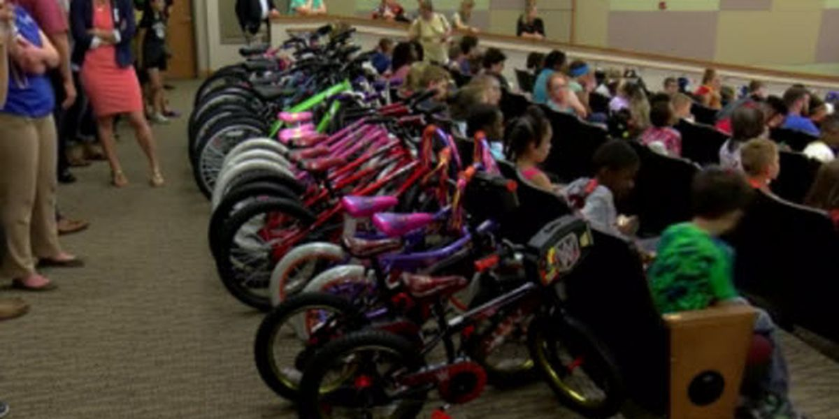 200 EVSC kids get new bikes thanks to annual Ivy Tech donation
