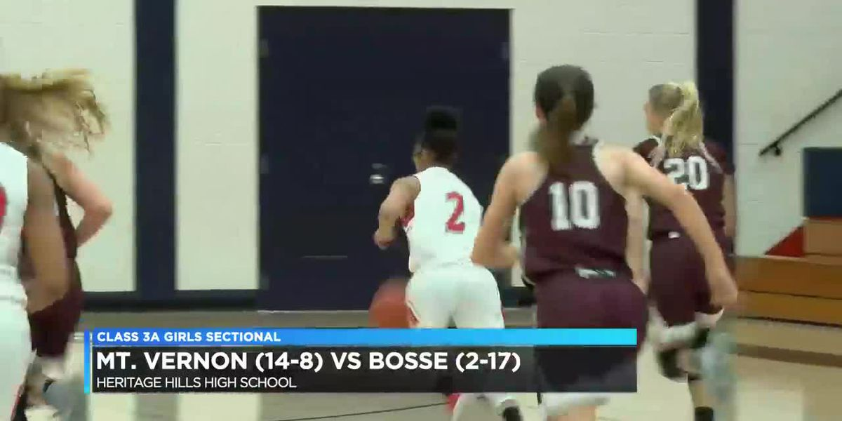 Girls Sectionals: Mount Vernon vs Bosse