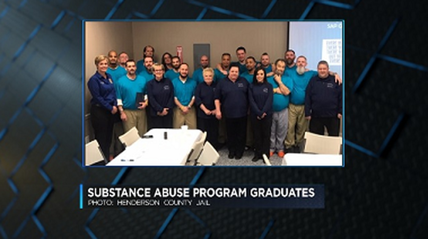 First class graduates from new substance abuse program at