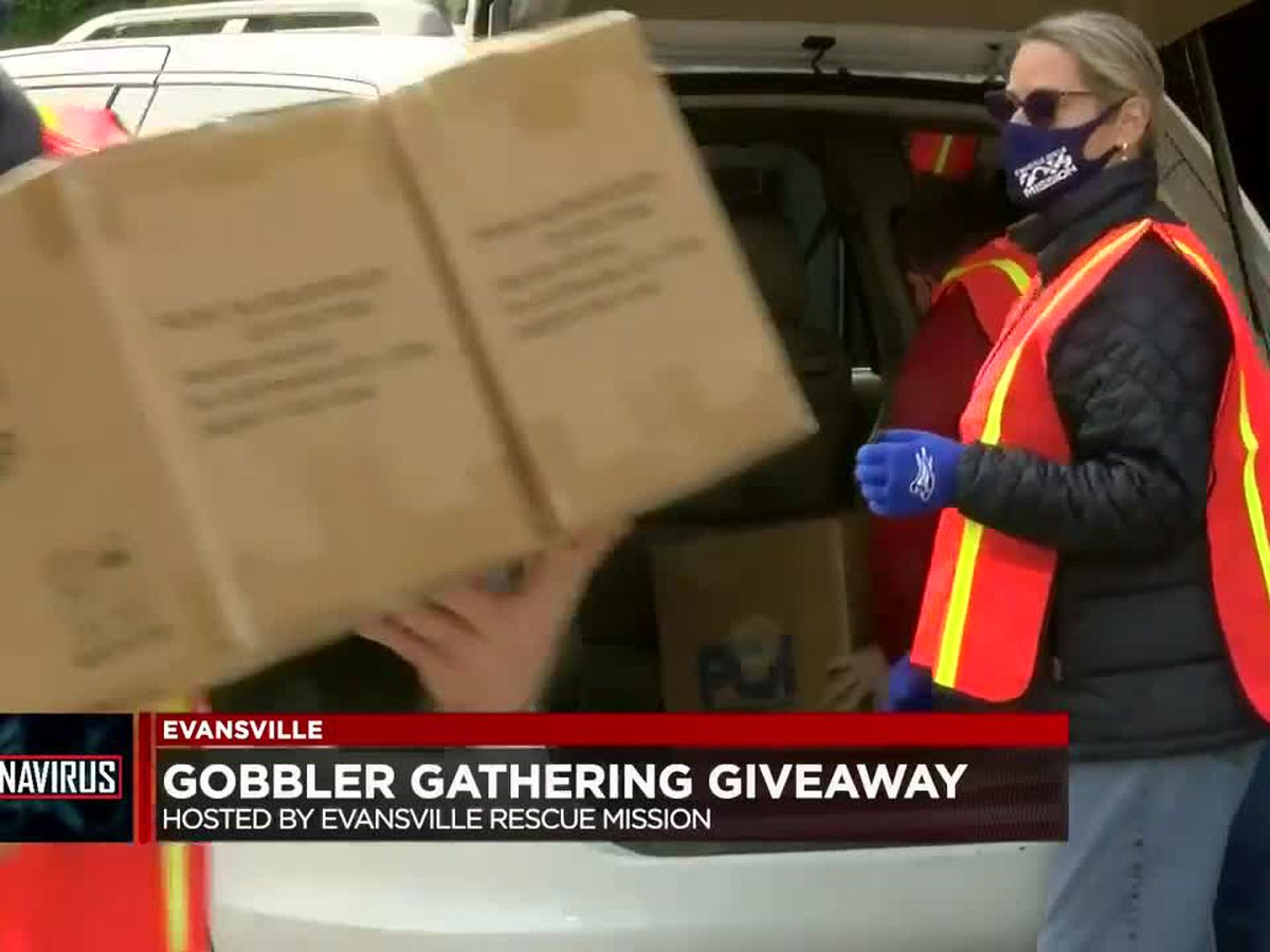Evansville Rescue Mission holds Gobbler Gathering
