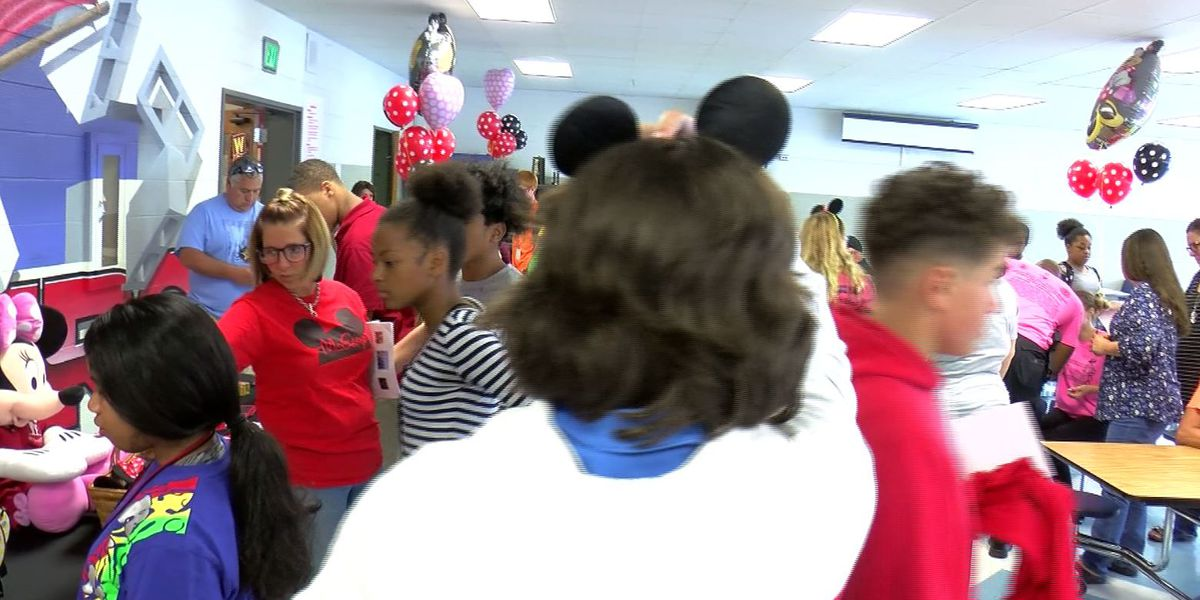 McGary Middle School students get Disney surprise