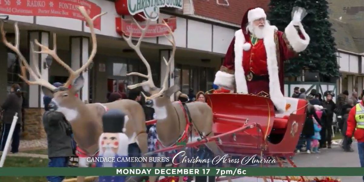 Santa Claus, IN will be on Hallmark Monday night
