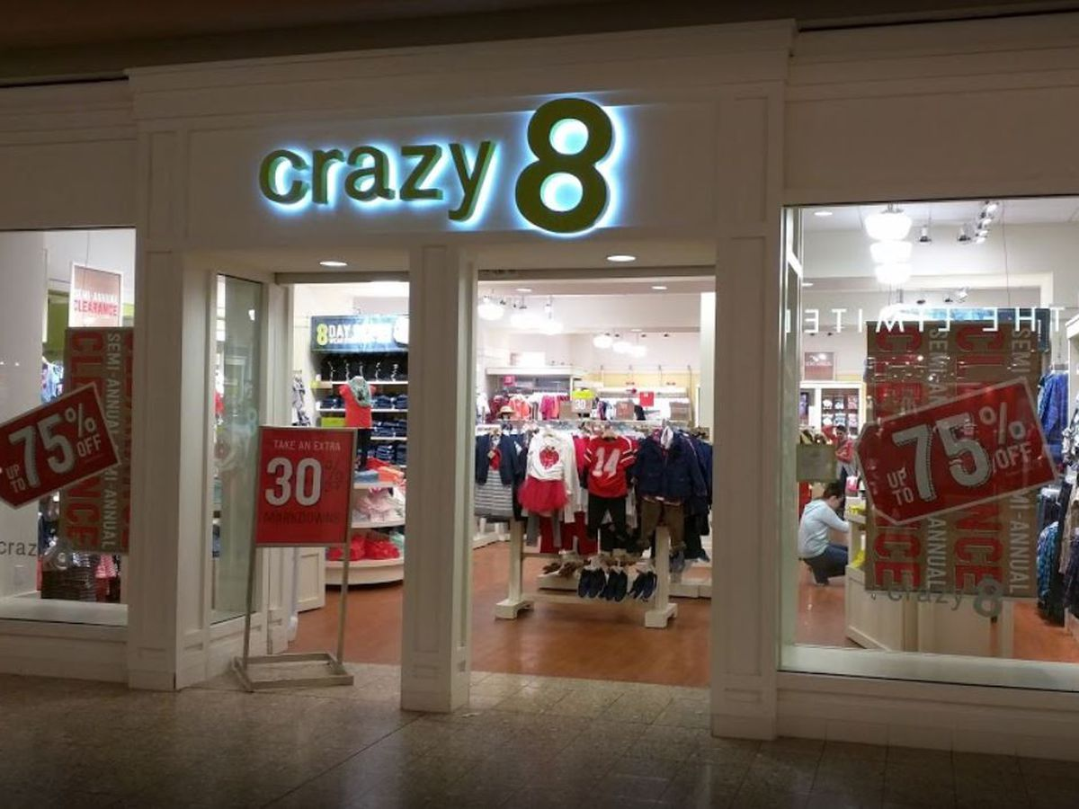 Evansville Crazy 8 store closing