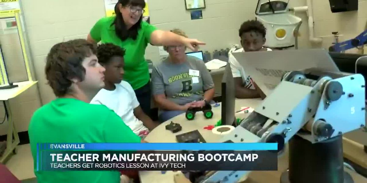 2-week boot camp aims to help teachers develop new skills