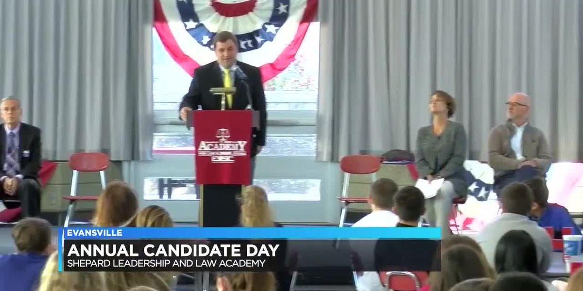 Shepard Leadership and Law Academy students meet candidates in upcoming election